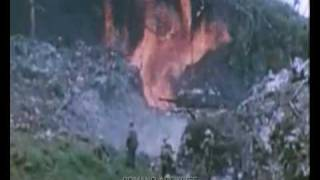 1944 Attack on Peleliu - UNEDITED Raw Color Footage