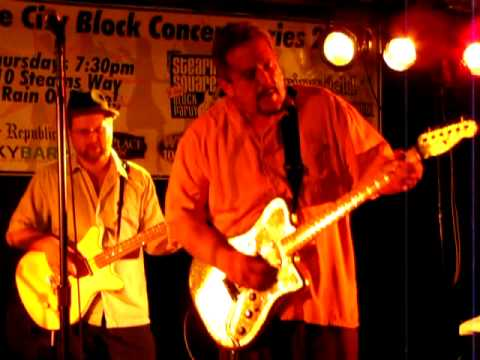 Guitar Feature - Roomful of Blues - Stearns Square - Aug 6th, 2009