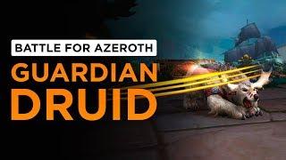 Guardian Druid | WoW: Battle for Azeroth - Alpha [1st Pass]