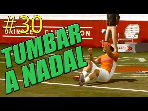 TOP SPIN 4 | David Ferrer | #30 TUMBAR A NADAL