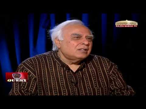 Kapil Sibal in 'The Quest'