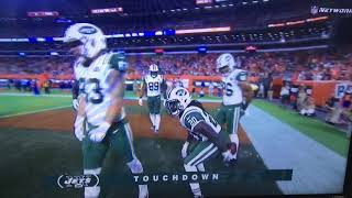 Isaiah Crowell Wipes His Ass With A Football And Throws It To Browns Fans!