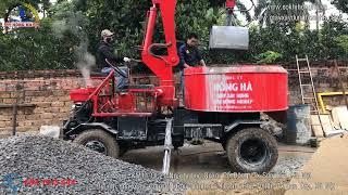 Máy trộn bê tông hiệu quả nhất 2018   Máy trộn bê tông Hồng Hà