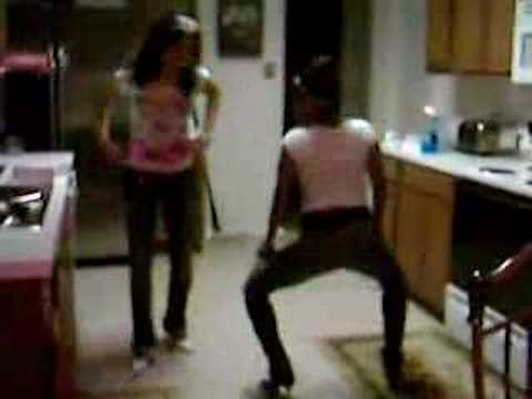 mz.lele and mz.diva gettin r white gurl on lol.... Video