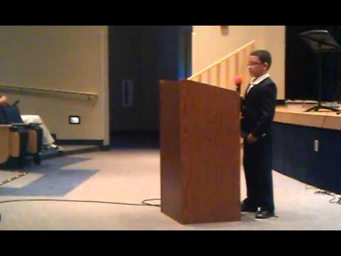 Richard Machado -  Preaching at Spencerville Adventist Academy