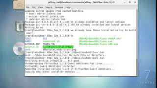 How to Update or Install Virtual Box additions on Centos Linux or Similar