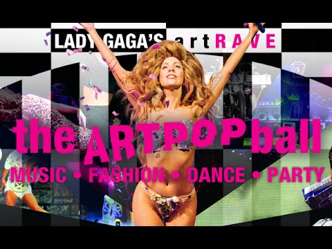 Lady Gaga's artRAVE: The experience (Belgium)