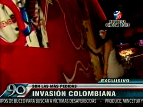 90 Segundos - Son las mas pedidas INVASION COLOMBIANA [20-06-13]