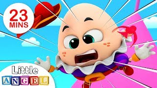 Humpty Dumpty Sat on a Wall, Finger Family Peekaboo, Itsy Bitsy & more Kids Songs by Little Angel