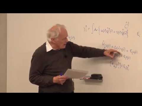 Condensed Matter Theory from a Quantum Information Perspective (Lecture 12) - Anthony Leggett - 2015