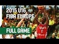 Spain v Turkey - 3rd Place Game - Live Stream - 2015 U16 European Championship Men