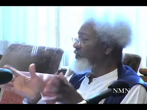 Video 8 Wole Soyinka Speaks@ The Christopher Okigbo International Conference Harvard University