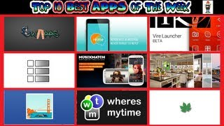 #188 APPS - Best Apps of The Week - Top 10 - Swapps Flip Launchers