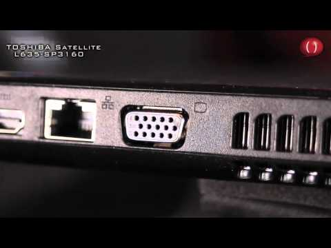 Laptop Toshiba Satellite L635-