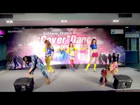130616 นางจำแลง cover 4Minute @Gateway Ekamai Cover Dance Contest 2013 (Audition)