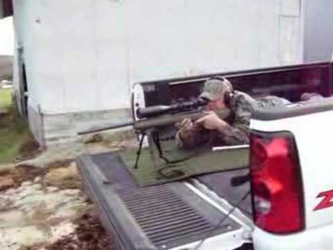 Shooting a .308 FN Patrol Rifle