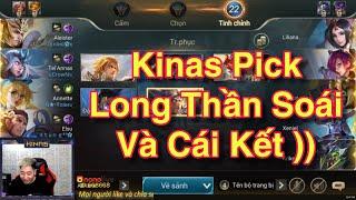 Khi Kinas Pick Yorn Long Thần Soái Oánh Rank và Cái Kết Khi Team Không Có Tanker