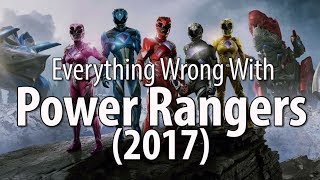 Everything Wrong With The Power Rangers 2017