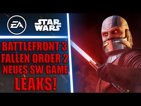 LEAKS: Ein weiteres NEUES Star Wars Spiel dieses Jahr?! - Battlefront 3 & Jedi Fallen Order 2 Leaks!