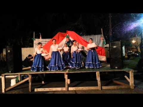 Grupo de Danzas Paraguayas Panambi Hovy (infantil) - FOGONES DE BERNAL 2014