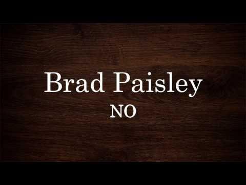 Brad Paisley - No