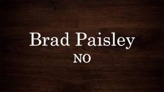 Watch Brad Paisley No video