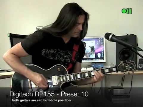 Digitech RP155 Preset Demo