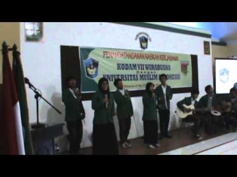 Vocal Group Fakultas Sastra Umi   Indo Logo & Anging Mamiri Medley Songs) video