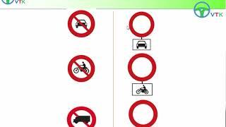 Phần 1: Hệ thống biển báo hiệu đường bộ