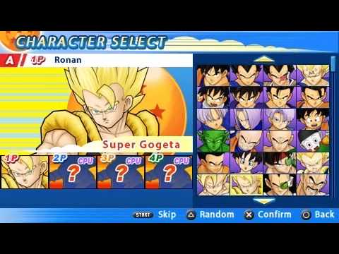 [PSP] Dragon Ball Z: Tenkaichi Tag Team All Characters