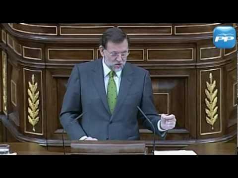 Rajoy a Zapatero: Sus medidas se han tomado a la ligera