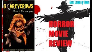 SCAREYCROWS ( 2017 Jimmy 'The Bee' Bennett ) Scarecrow Comedy Horror Movie Review