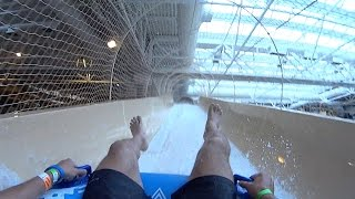 Master Blaster Water Slide at Sandcastle Waterpark