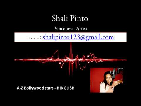 A- Z Bollywood episode -hinglish - Voice-Over by Shali Pinto