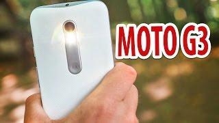 Обзор смартфона Moto G 3 поколения. Не боюсь воды