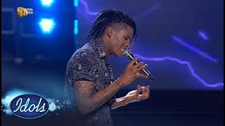 Top 2 Reveal: Thato - 'If' – IdolsSA | Mzansi Magic