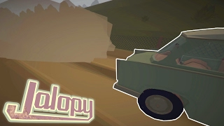 Going Off Road! - Jalopy [Ep. 2] - Let's play Jalopy Gameplay