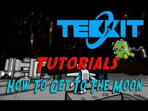 How To Get To The Moon (Galacticraft) Tekkit Tutorial