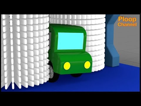 Cartoon Cars - HUNGRY CAR WASH! - Cartoons for Children - Children's Animation Videos for kids