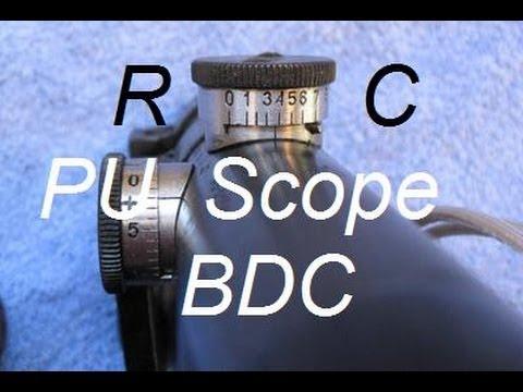 Mosin Nagant Sniper - PU Scope BDC Test