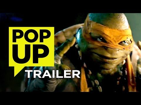 Teenage Mutant Ninja Turtles - Pop-Up Trailer (2014) - Megan Fox Movie HD