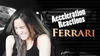 Ferrari Acceleration Reaction