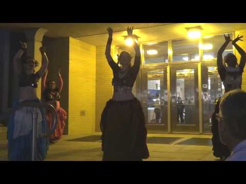 Penn State Belly Dance Club performs in front of Davey Lab - CPFA 2013, Show #2 ** 254-7