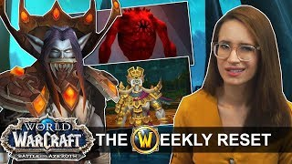 Meet The Newest Addition To The Horde - Vampire Elves! Plus The Raids & Dungeons Of BfA: WoW News