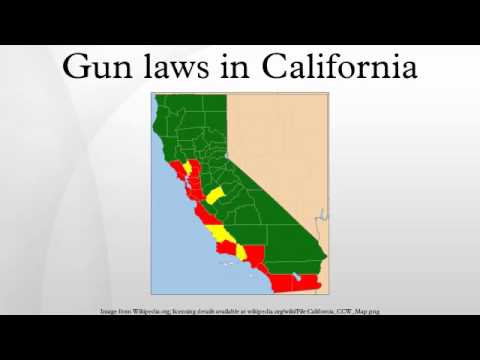 Gun laws in California