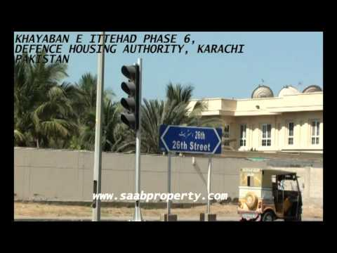 KHAYABAN E ITTEHAD PHASE 6 DEFENCE HOUSING AUTHORITY KARACHI PAKISTAN 2000SQ YDS PLOTS