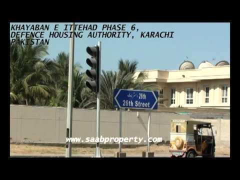 KHAYABAN E ITTEHAD PHASE 6 DEFENCE HOUSING AUTHORITY KARACHI PAKISTAN 2000SQ YDS PLOTS