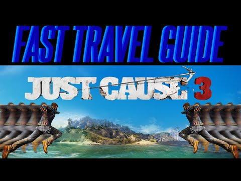 Just Cause 3 TIPS Fast Travel Guide | Tutorial | Flares | Shrines | Beginner Guide