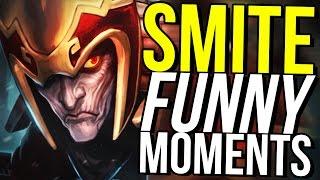 5 MAN LOKI TEAM RAGE! (Smite Funny Moments)