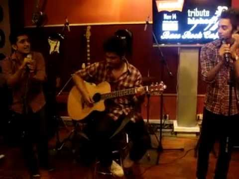 H.I.S (Sahara - Bohemias cover ) at Base Rock Cafe
